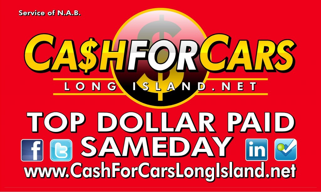 Cash For Cars | Sell My Car | Junk My Car | 631-226-2277
