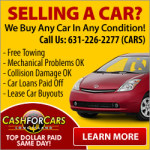 Cash For Cars, Sell Cars, Junk Car 631-226-2277