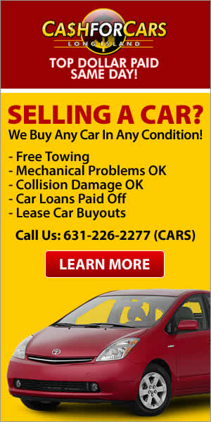 Cash For Cars, Sell My Car, Long Island